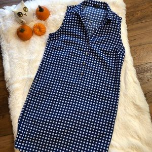 The Limited Knee Length Checkered Dress